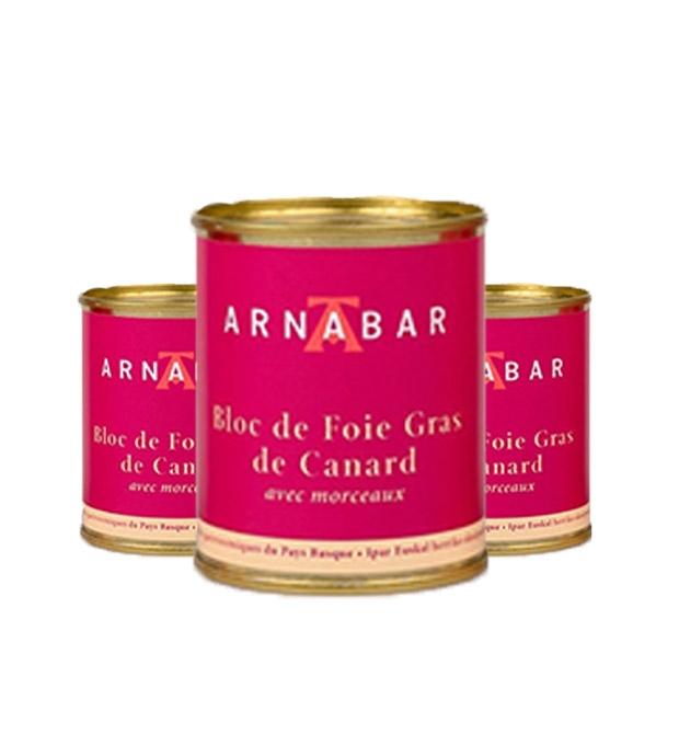 Lot 3 blocs de foie gras -...