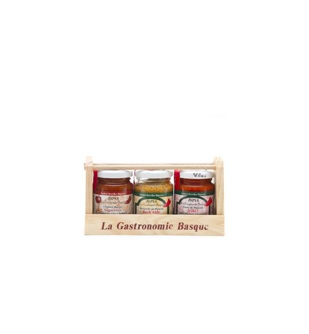 Coffret 3 sauces 280g