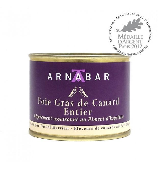 Foie Gras de Canard Entier au Piment...