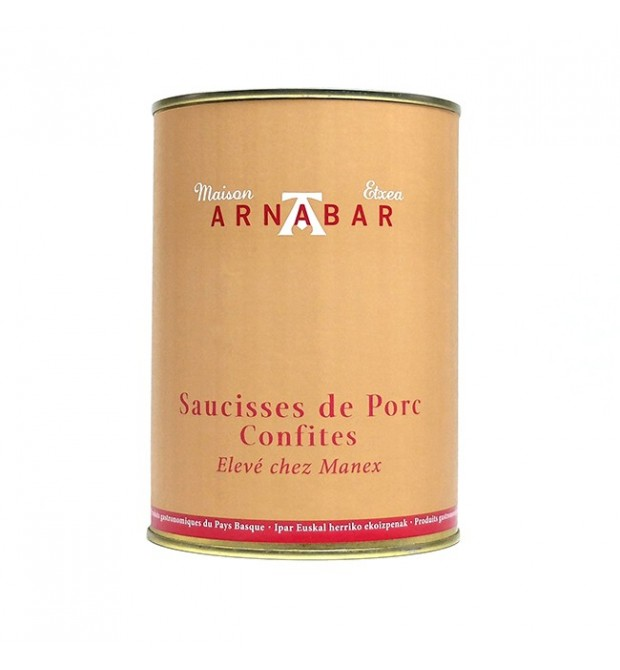 Saucisses de Porc Confites 950g