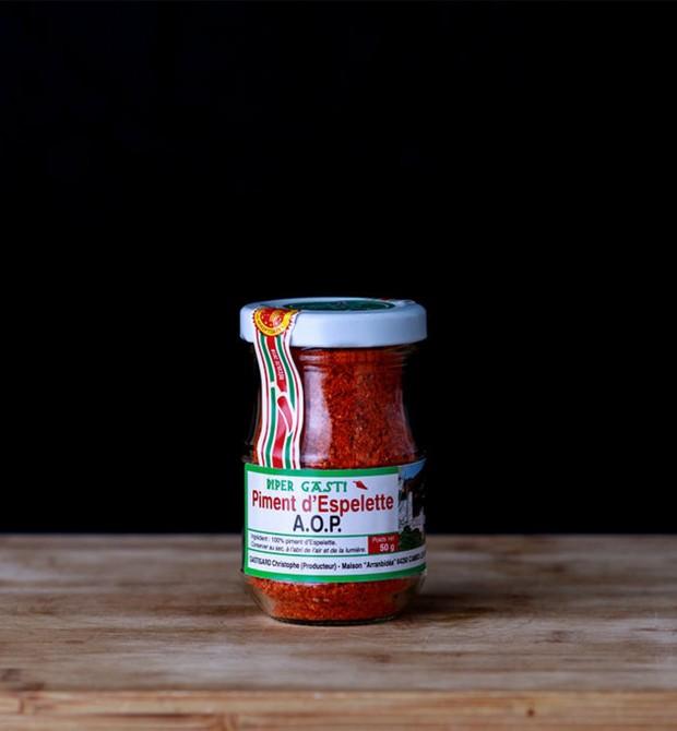 Poudre de piment d'Espelette AOC 50g