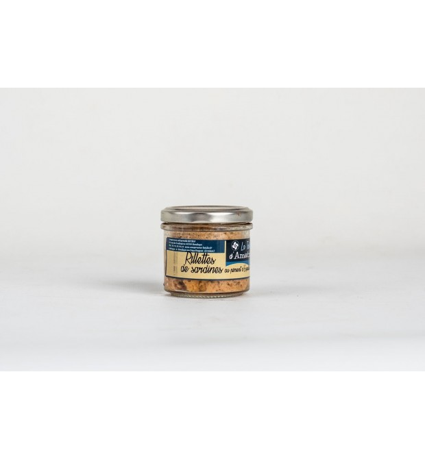 Rillettes de Sardines au piment...
