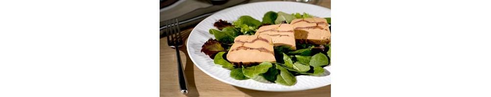 Au foie gras